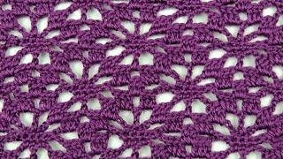 getlinkyoutube.com-Crochet: Punto Arañitas