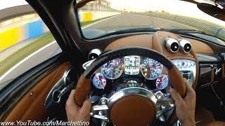 getlinkyoutube.com-YOU Drive the Pagani Huayra Fast!
