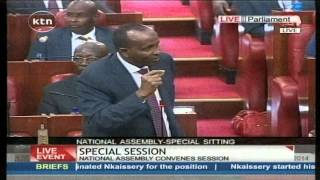 getlinkyoutube.com-Aden Duale on the issue of humiliation of the Deputy speaker in the National Assembly