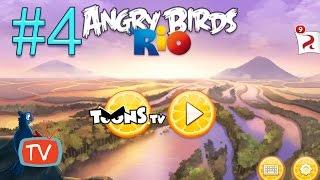 getlinkyoutube.com-Angry Birds Rio 2 - Part 4 Blossom River - Gameplay walktrough