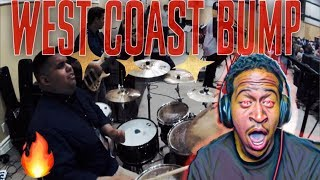 WEST COAST BUMP - PRAISE BREAK- GOSPEL MEDLEYS- REACTION.