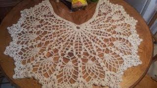 getlinkyoutube.com-Pineapple Shawl Tutorial Part 1 (Crochet Stitches)