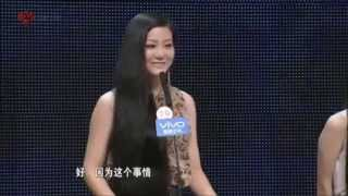 getlinkyoutube.com-Sun Ying (孙颖) gets Pressured on Dating Show to Cut her Long Hair