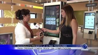 McDonalds presenta novedades en su servicio. Gaby Romero nos cuenta más