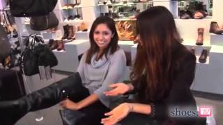 getlinkyoutube.com-Samia Khan try shoes ( high heels and thigh high boots)