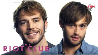 getlinkyoutube.com-Sam Claflin, Max Irons + Douglas Booth on The Riot Club