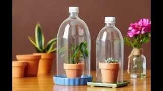 getlinkyoutube.com-Kerajinan Tangan Dari Barang Bekas | Botol Plastik Bekas