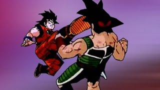 getlinkyoutube.com-Goku vs Bardock