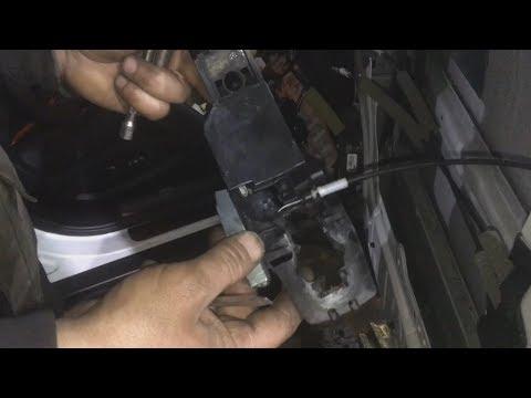 Как снять ручку передного двери инфинити fx35