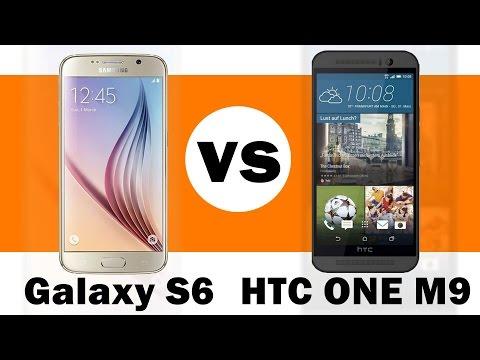 مقارنه جالكسي اس6 واج تي سي9 | Galaxy S6 Vs HTC One M9