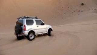 getlinkyoutube.com-Liwa Team suzuki jimny in UAE Desert سويحان سوزوكي