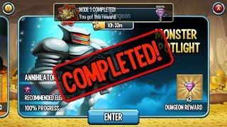 getlinkyoutube.com-Monster Spotlight Annihilator R2 Reward Gems on Monster Legends