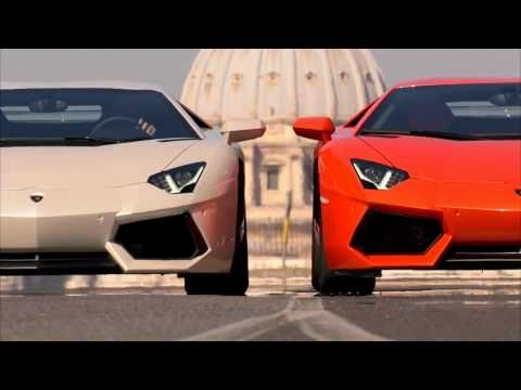 [HD 1080p] 2012 Lamborghini Aventador LP 700-4 a Roma