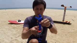 Kitefoiling Tutorial (Beginner): Basic body and foot position