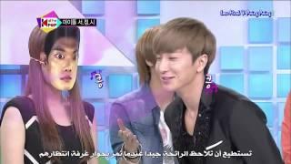 getlinkyoutube.com-All The Kpop With  Suju Ep12 part1 Arabic sub