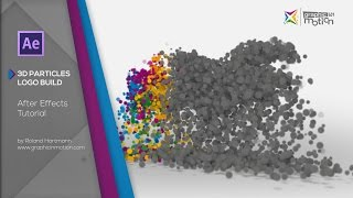 getlinkyoutube.com-After Effects Tutorial - 3D Particle Logo Build