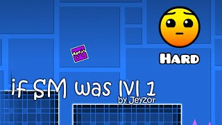 Geometry Dash - If Stereo Madness was level 1 by Jeyzor (HD)