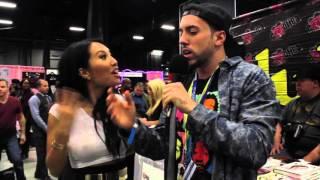 getlinkyoutube.com-Funny Asa Akira Interview: Blowjobs & Gang Bang Scene @ Exxxotica NJ