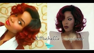 getlinkyoutube.com-K.Michelle Inspired Wig: Outre Lexy!