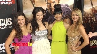 "getlinkyoutube.com-""SPARTACUS War Of The Damned"" Premiere Liam McIntyre, Lucy Lawless, Dustin Clare, VIva Bianca"