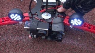 getlinkyoutube.com-OFM Seeker 450 V2 -- 2nd Flight testing with 8 inch Props