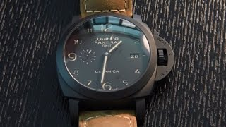 Panerai PAM441 - Unboxing and Changing Strap