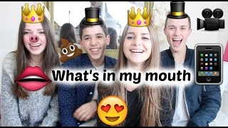getlinkyoutube.com-What's in my MOUTH - On se régale !