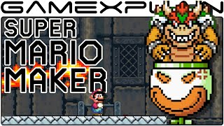 getlinkyoutube.com-Super Mario Maker - Customizing Bowser & Bowser Jr Boss Fights
