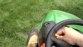 getlinkyoutube.com-John Deere vs. Husqvarna riding mower