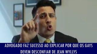 getlinkyoutube.com-Advogado faz sucesso ao explicar por que os gays devem desconfiar de Jean Wyllys