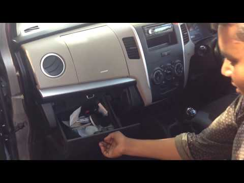 AC Filter Cabin air filter cleaning - Maruti Suzuki Wagon r or alto k10