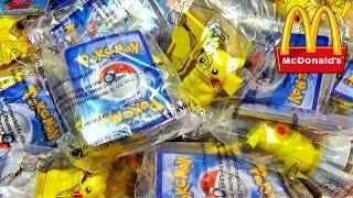 getlinkyoutube.com-Ouverture de 12 Surprises Pokémon McDonald's - Des Cartes Pokémon BRILLANTES !