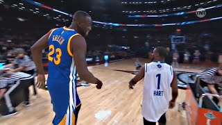 getlinkyoutube.com-Kevin Hart vs Draymond Green - 3 point Shootout - 2016 All-Star Weekend