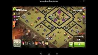 getlinkyoutube.com-COC 女武神海, TH8 vs. TH8