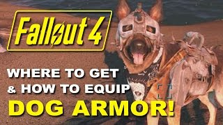 getlinkyoutube.com-FALLOUT 4: Dogmeat's Dog Armor - Where to Find it & How to Equip It! (Rare Armor Location Guide)