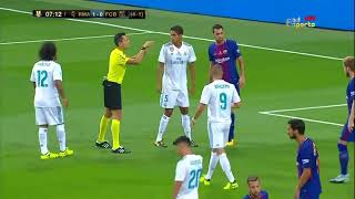 Real Madrid vs Barcelona Full Match HD 16 08 2017ᴴᴰ width=
