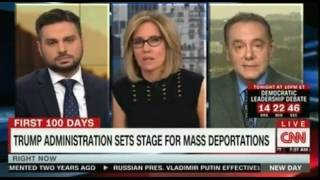 Trump administration sets stage for mass deportations Debate the FEAR group vs ACLU