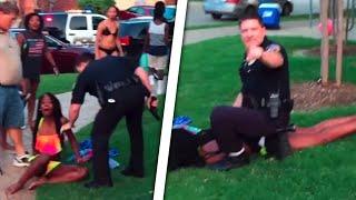 getlinkyoutube.com-Raging Cop Attacks Black Teens At Pool Party In McKinney, Texas