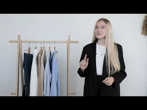 Разбор базового гардероба со стилистом. 7 вещей Conte = 20 образов