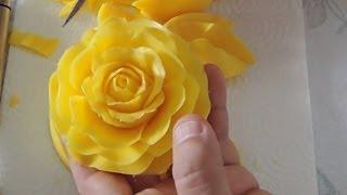 getlinkyoutube.com-How to Carving a rose in soap - Rosas em sabonete - Cem Aromas