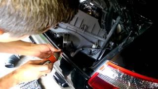 getlinkyoutube.com-Replace MAF sensor on Porsche 911 997