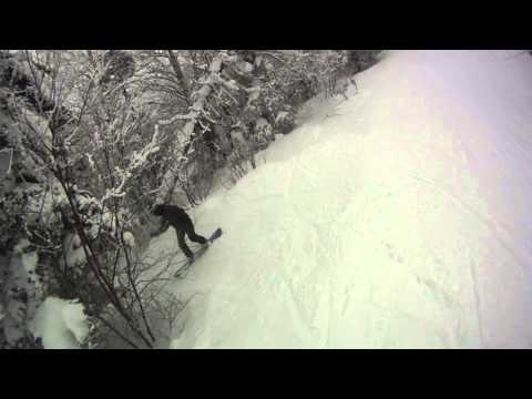 Jay Peak - March 2013 - Snowboarding, Glades and Beautiful Snow