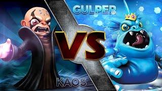 getlinkyoutube.com-Skylanders Trap Team - Kaos VS Gulper