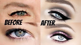 getlinkyoutube.com-The ULTIMATE Cut-Crease Tutorial for Hooded Eyes!! (VERY IN DEPTH!!) | Stephanie Lange
