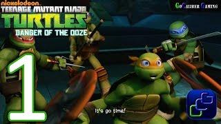 Teenage Mutant Ninja Turtles: Danger of the OOZE Walkthrough - Gameplay Part 1