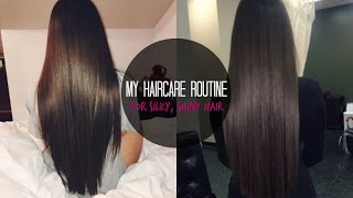 getlinkyoutube.com-MY HAIRCARE ROUTINE♡ TIPS + SECRETS