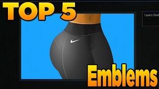 getlinkyoutube.com-Top 5 Emblems in Black Ops 3 (EP. 6 Best Emblems BO3)
