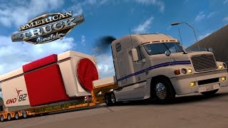 getlinkyoutube.com-American Truck Simulator | Freightliner Century | 38 Toneladas