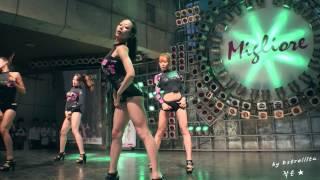 getlinkyoutube.com-[4K] 20150627 밤비노(Bambino) 동대문 밀리오레 쇼케이스 - 02.커버댄스