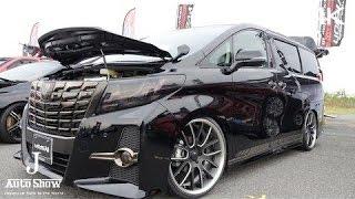getlinkyoutube.com-(4K)TOYOTA ALPHARD 30 V-Vision トヨタ・30系アルファード 2015 - スーパーカーニバル2015